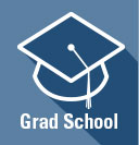 Graduate School icon linking to graduate school information