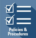 Policies and Procedures icon link to policies and procedures at USU