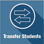Transfer students icon linking to information about transferring to Utah State University